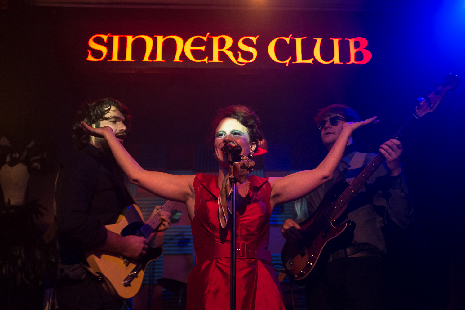 SinnersClub - Lucy Rivers and The Bad Mothers Band. Photo credit Kieran Cudlip