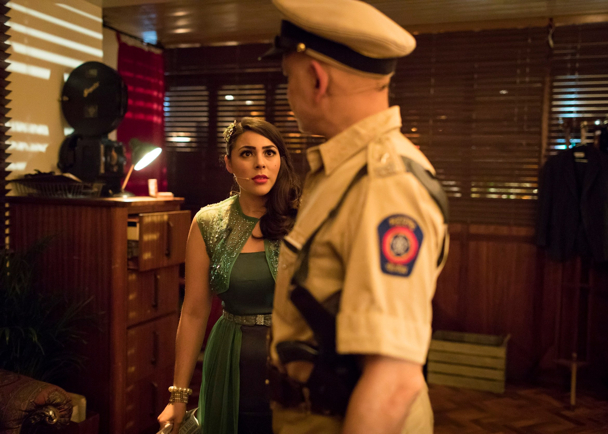 Sophie-Khan-Levy-as-Ursula-and-Harmage-Singh-Kalirai-as-the-Inspector-in-Night-at-the-Bombay-Roxy_Photo-Credit-Helen-Maybanks.JPG