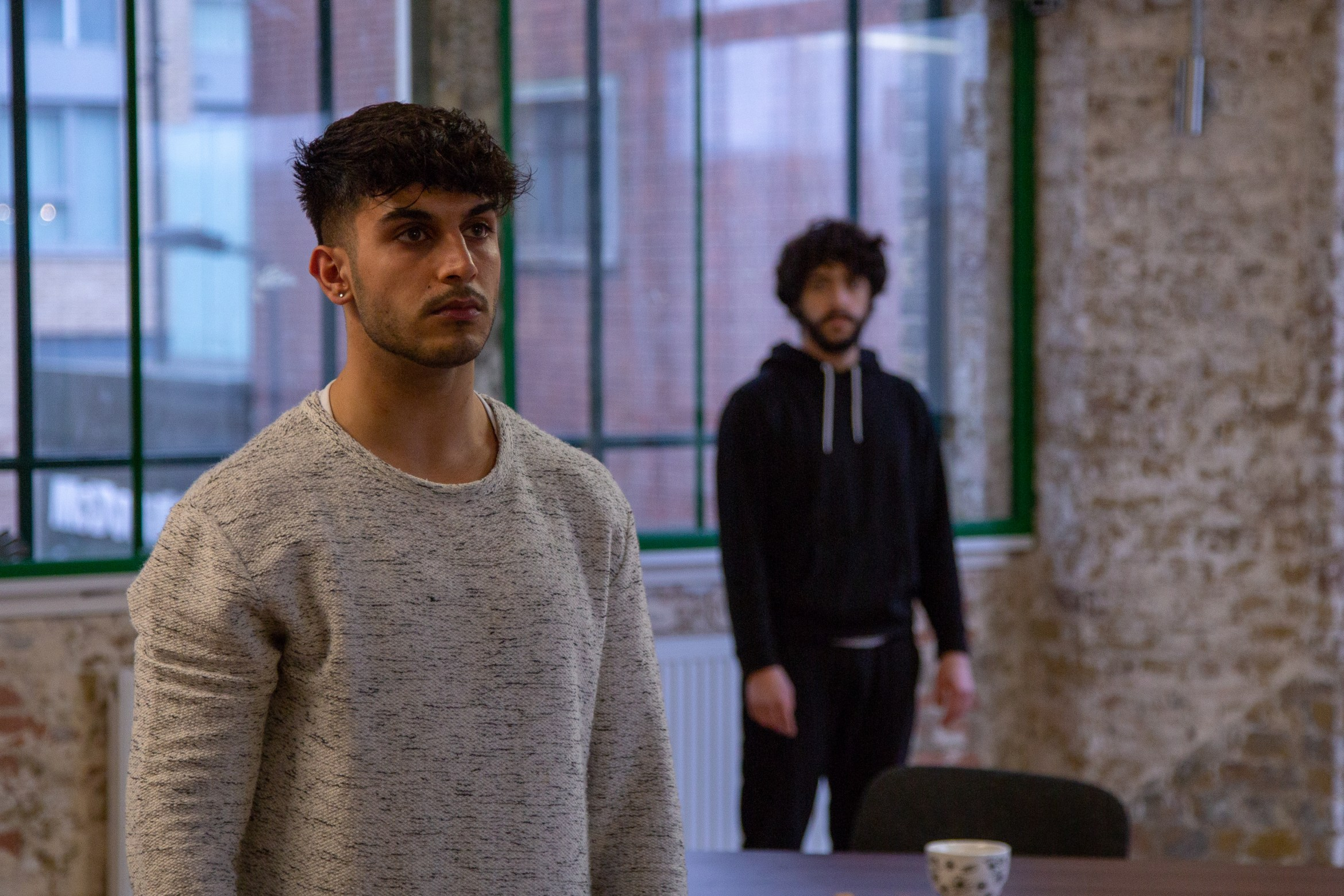 Moormaid - Rehearsal Images (Moe Bar-El and Ali Azhar), courtesy of Meurig Marshall Photography