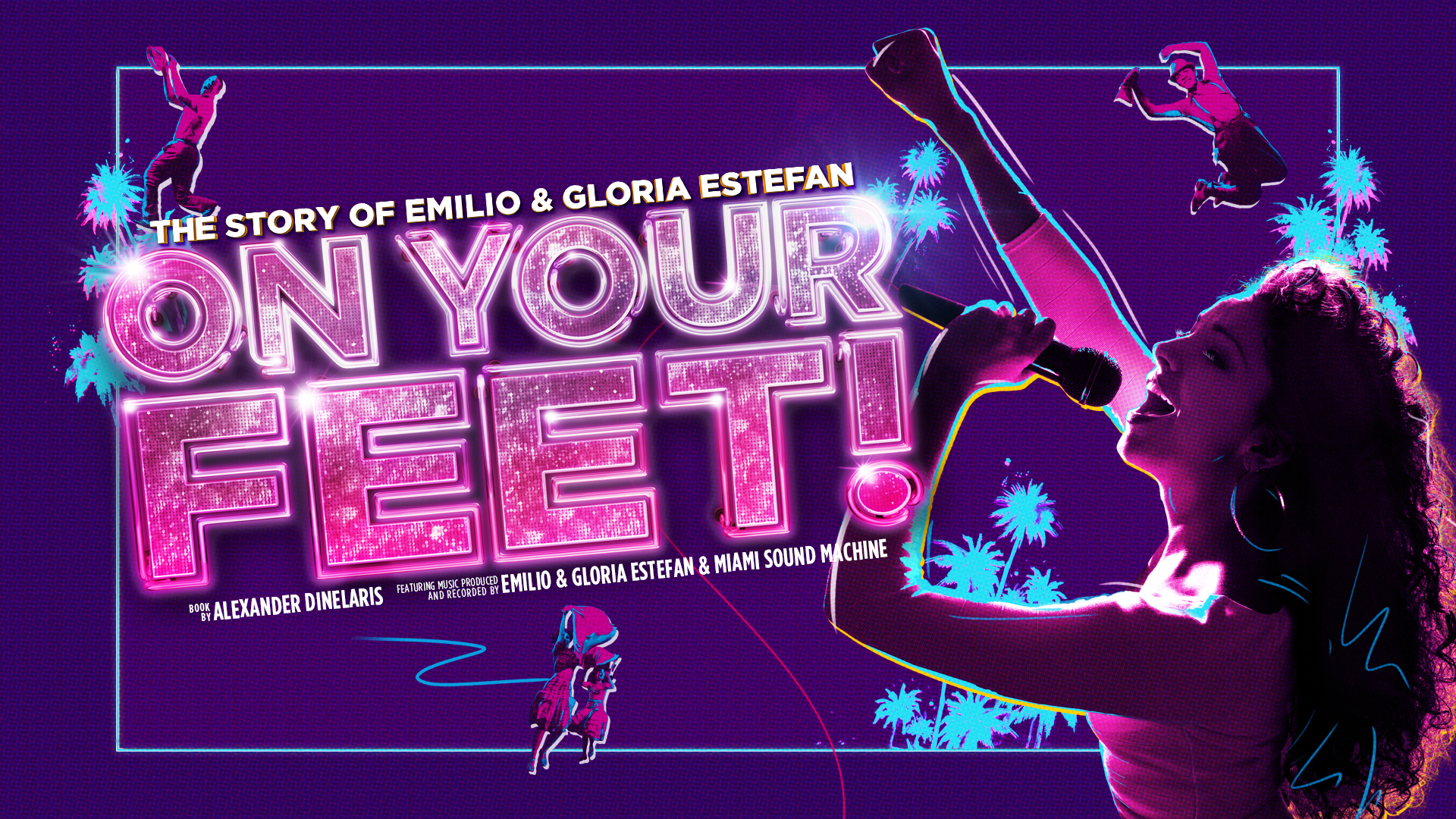 ON YOUR FEET! Artwork