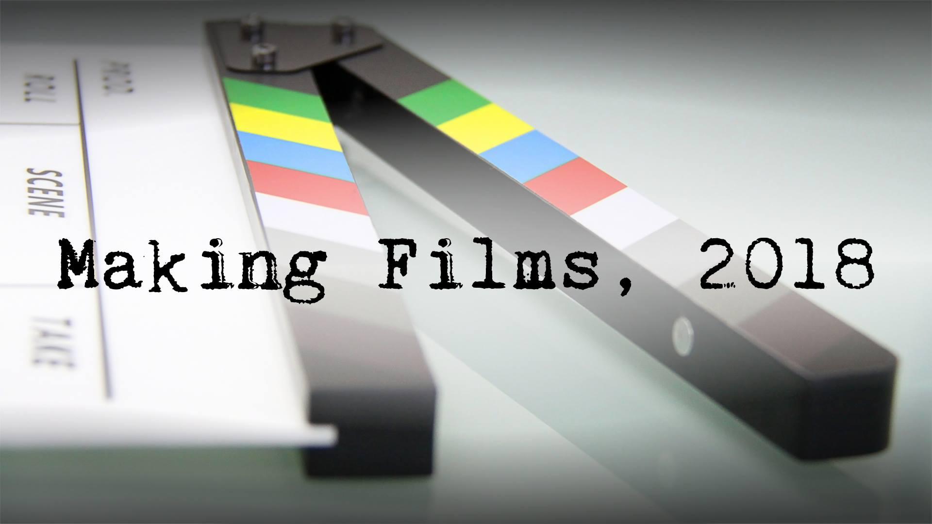 MAKING FILMS - MAIN IMAGE