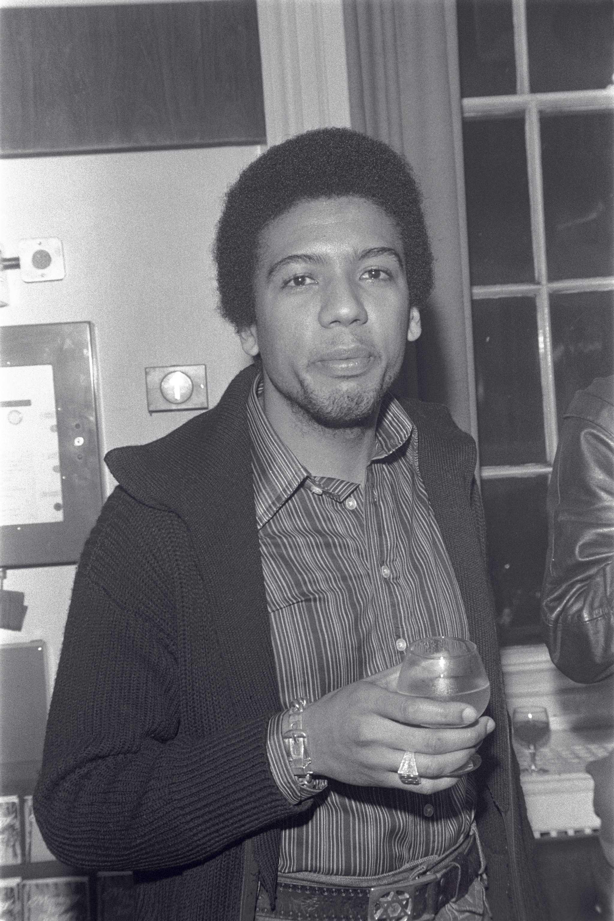 Steve Barnard (first black BBC radio presenter with a reggae music show) © Neil Kenlock.jpeg