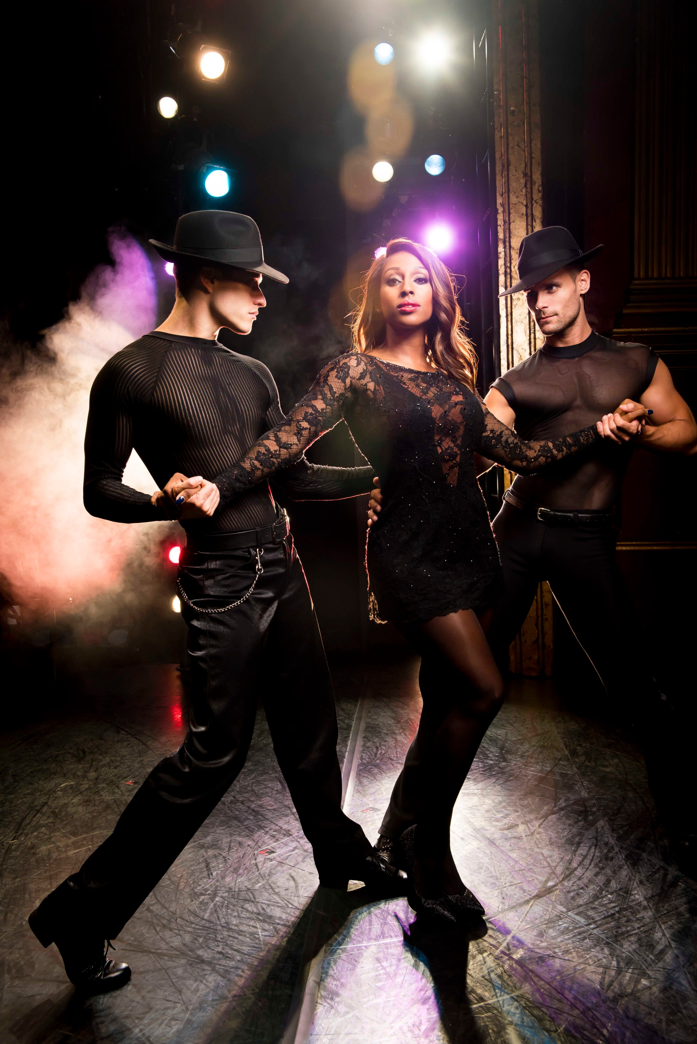 Alexandra Burke as Roxie Hart in Chicago (3) credit Matt Crockett