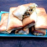 Halloumi Cheese Spring Rolls