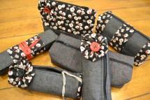 Handmade cosmetic cases