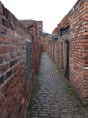 Don't fancy these alleys in the dark!