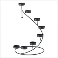 Metal Spiral Candle Holder