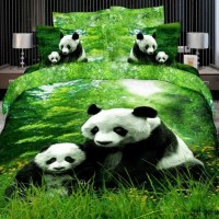 Cute Panda bedding