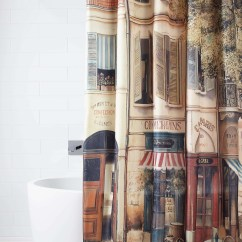 Kitchen Runner Square Island Paris The Corner Coffee Shop,nostalgia,shower Curtain