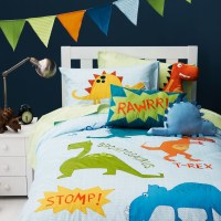 Dinosaur bedding