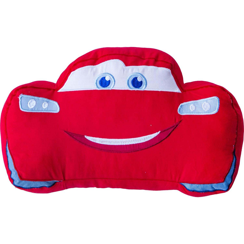 disney pixar cars lightning mcqueen red plush cuddle pillow cushion toy