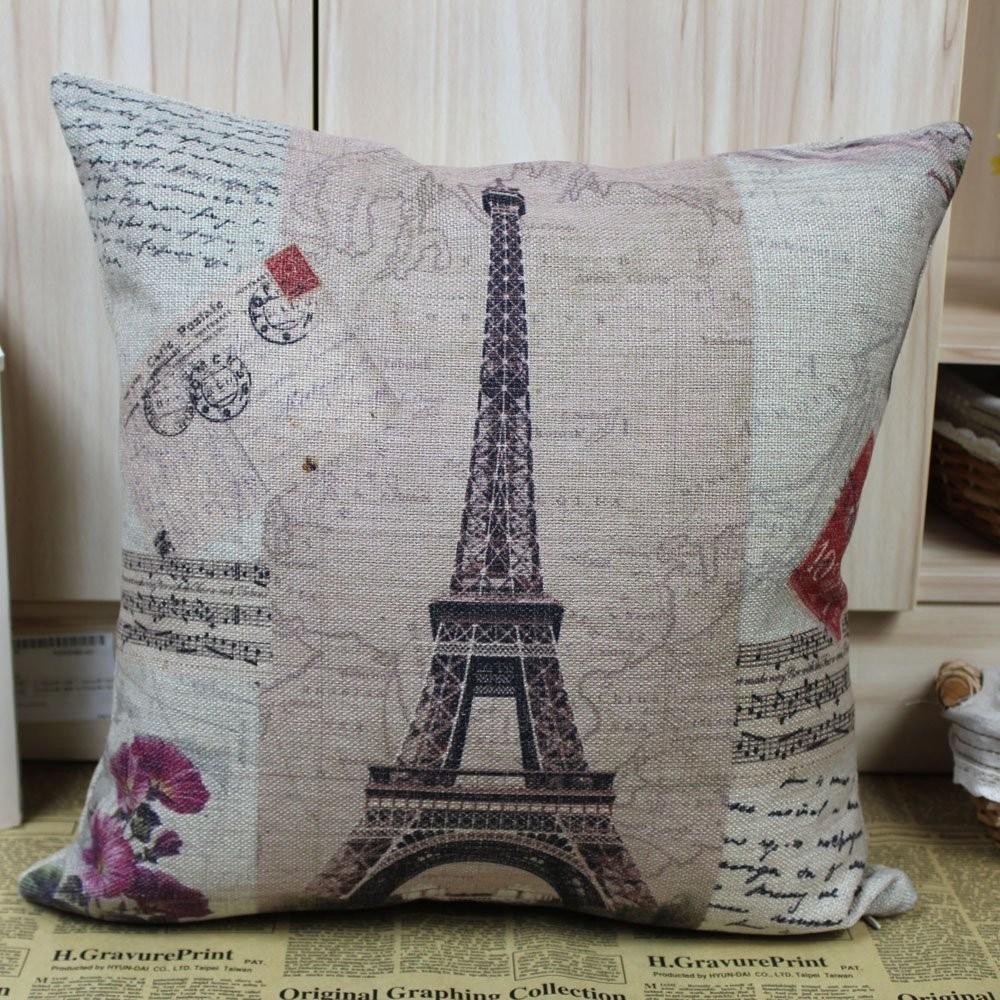 chair cover christmas decorations charles rennie mackintosh willow france paris eiffel tower music sheet cushion