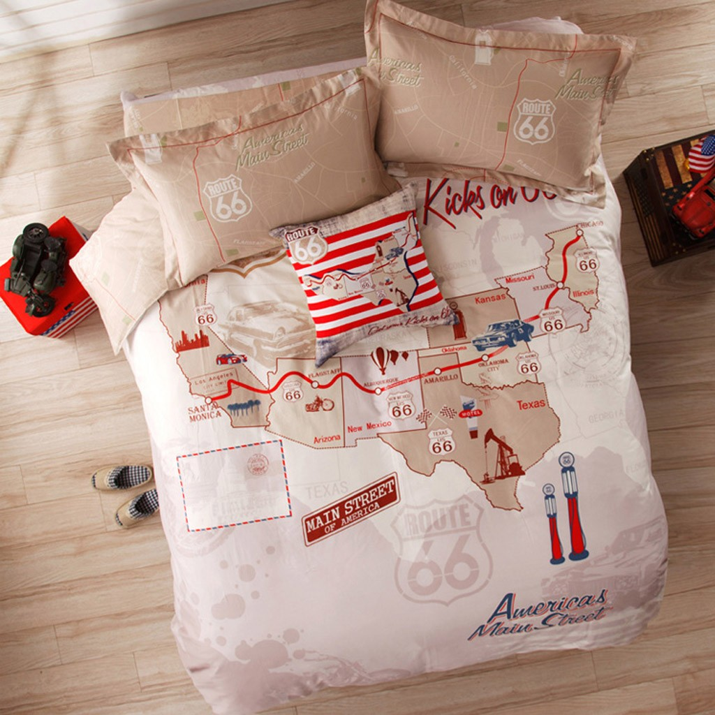 route 66 bedding
