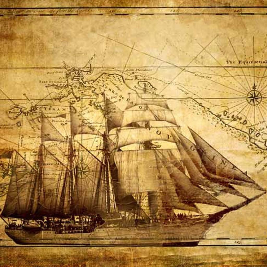 Sail Ship Canvas Print