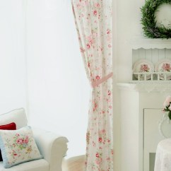 Shabby Chic Chair Hot Pink Velvet Chairs Curtain