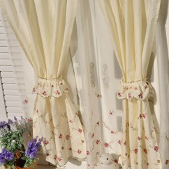 Kitchen Valance Remodeling Williamsburg Va Rose Tiered Curtain
