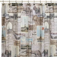 French Lace Kitchen Curtains Wusthof Knives Paris Shower Curtain