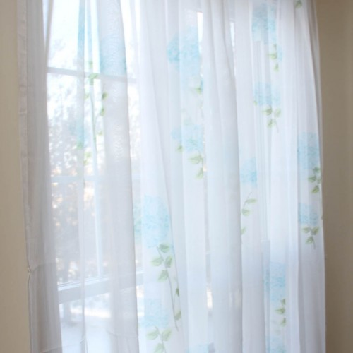 discount kitchen curtains white undermount sink hydrangea curtain