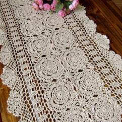 Kitchen Valance Patterns Cheap White Cabinets Crochet Runner