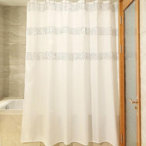 Sequin shower Curtain