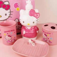 Cute Kitchen Rugs Kwc Faucets Hello Kitty Bathroom Set