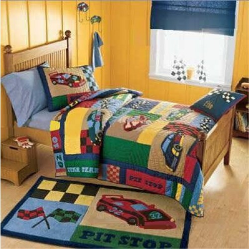 cute kitchen rugs rustic island lighting race car bedding