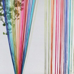 Custom Kitchen Rugs Easy Backsplash Rainbow String Curtain