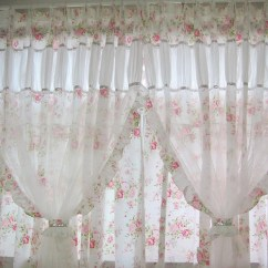 Discount Kitchen Curtains Remodeling Los Angeles Shabby Chic Curtain