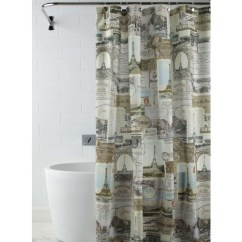 Kitchen Runner Mat Wall Pictures For Paris Shower Curtain