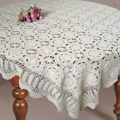 Crochet Christmas Chair Covers Design Statement Tablecloth