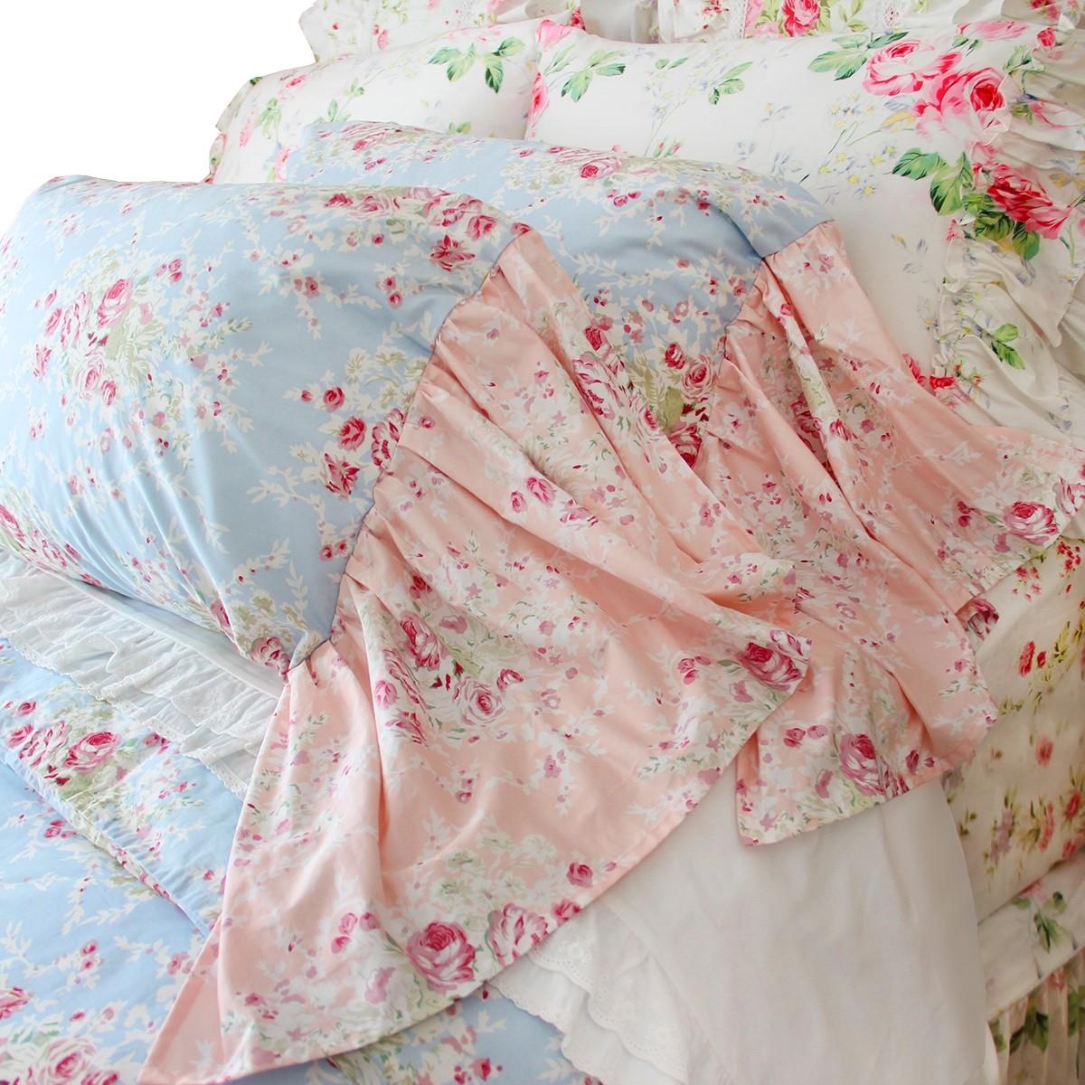 mermaid long ruffle bedding