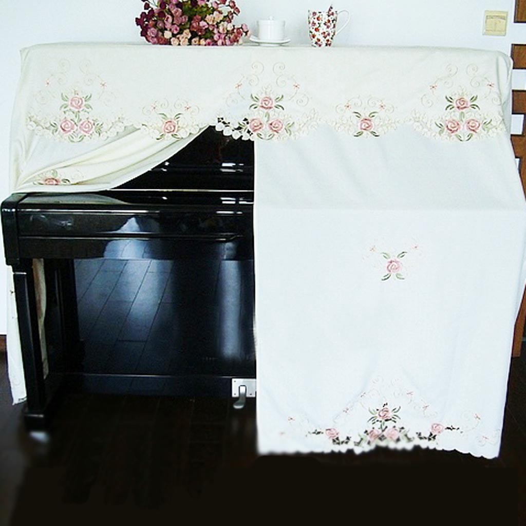 crochet christmas chair covers buy and sashes embroidery rose piano cover