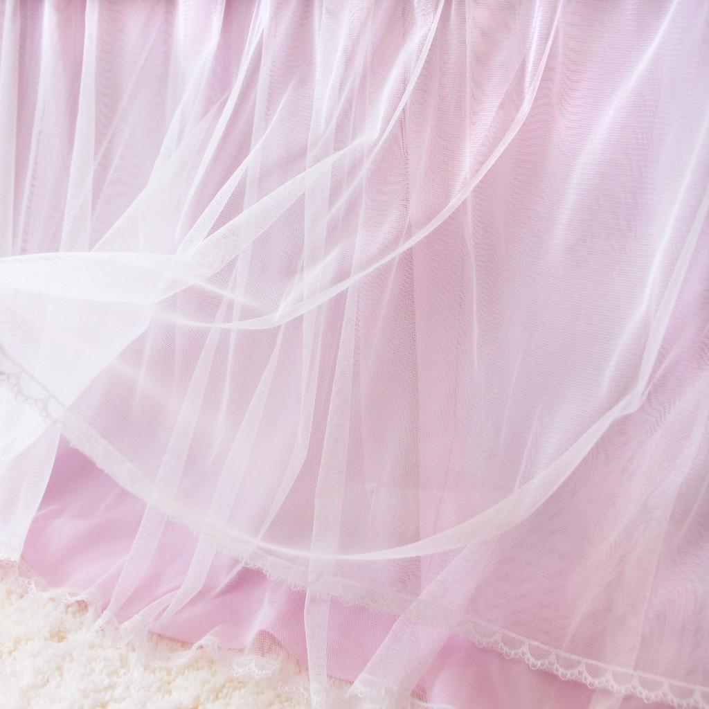Pink Bedskirt