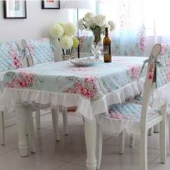 Christmas Chair Covers Teak Table And Chairs Garden Shabby Chic Tablecloth