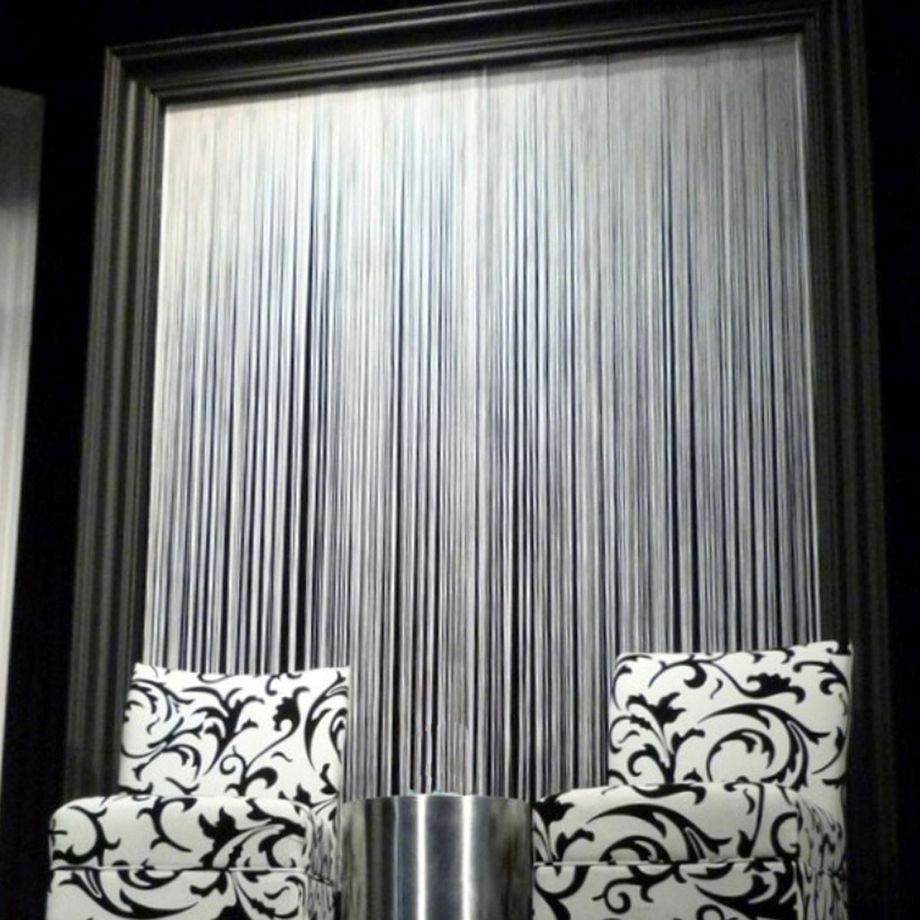 bar in living room accent tables for white string curtain panel