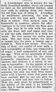Fluffy Breakfast Muffins 1902