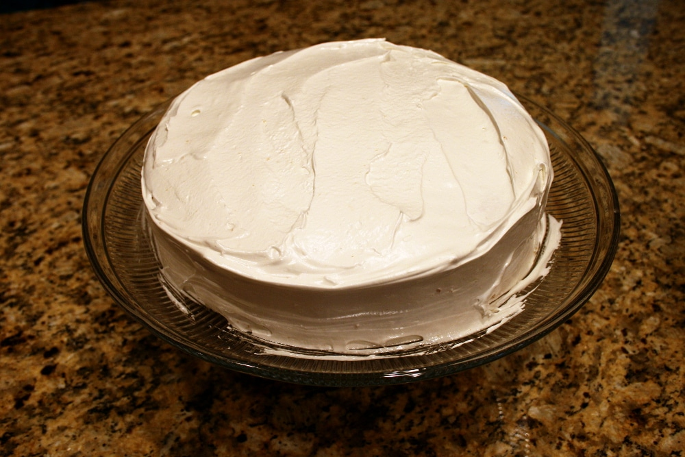 Cake Frosted