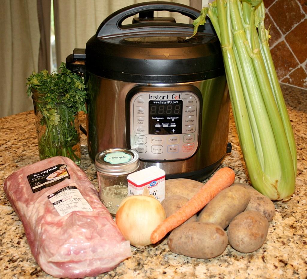 Instant Pot Beef Stew Ingredients