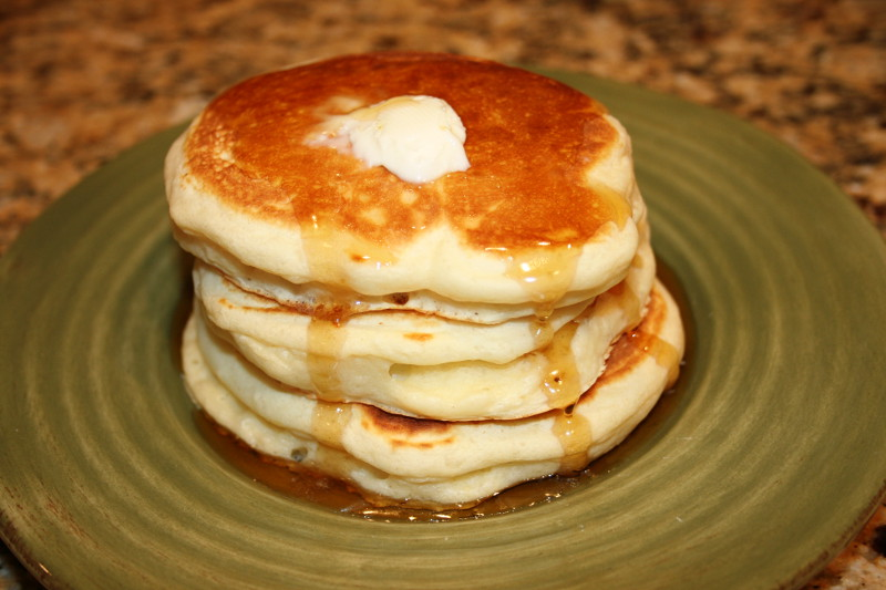 Mrs. Lefter's Velvet Pancakes