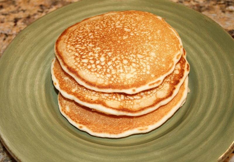 Mrs. De Graf's Delicious Pancakes