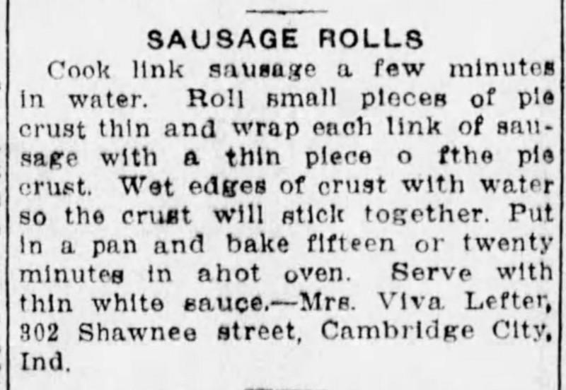 Mrs. Lefter's Sausage Rolls