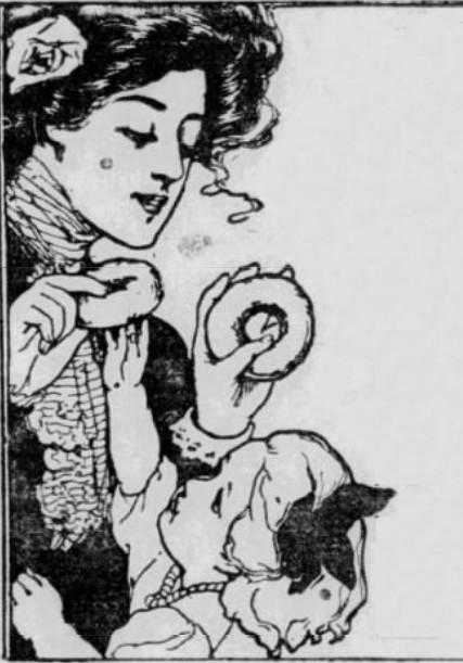 Doughnut recipes from 1912