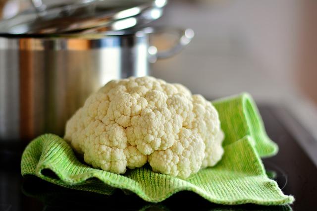 Cauliflower Recipes from 1920