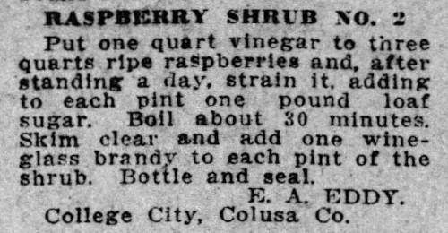 shrub drink