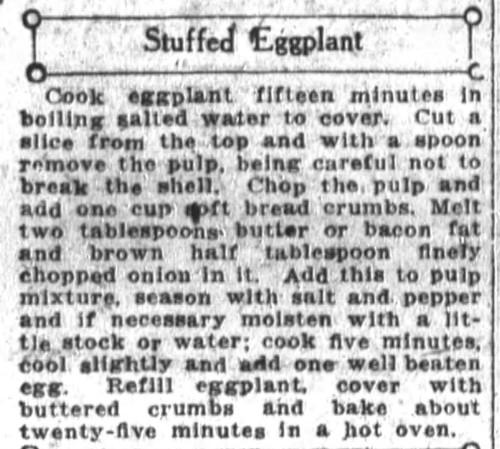 Stuffed Eggplant Recipes