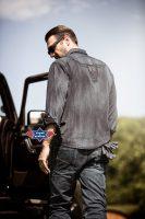 ENZO Westernhemd im Fade-Out-Look mit Stickerei auf dem Rücken. Brusttaschen und Druckknöpfe. Material: 100% Baumwolle Größen: S   M   L   XL   XXL   3XL