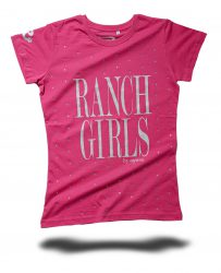 RANCHGIRL T-SHIRT _KYLIE_ pink - OS-WESTERN SPORTS APPAREL.lovelybull-westernstore