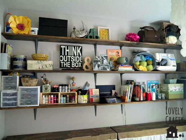 Lovely Crafty Home Office