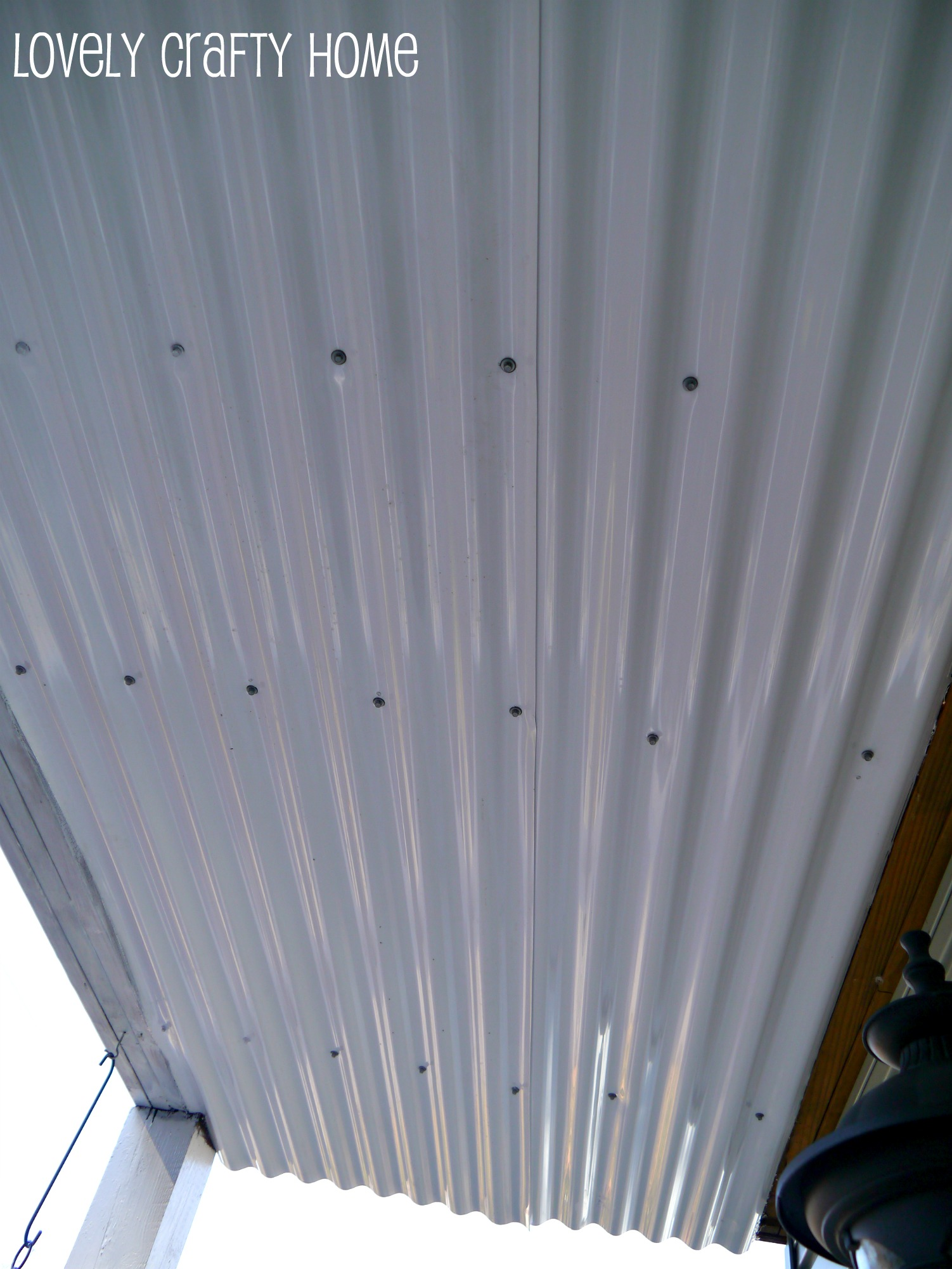 Under Deck Ceiling…Continued…