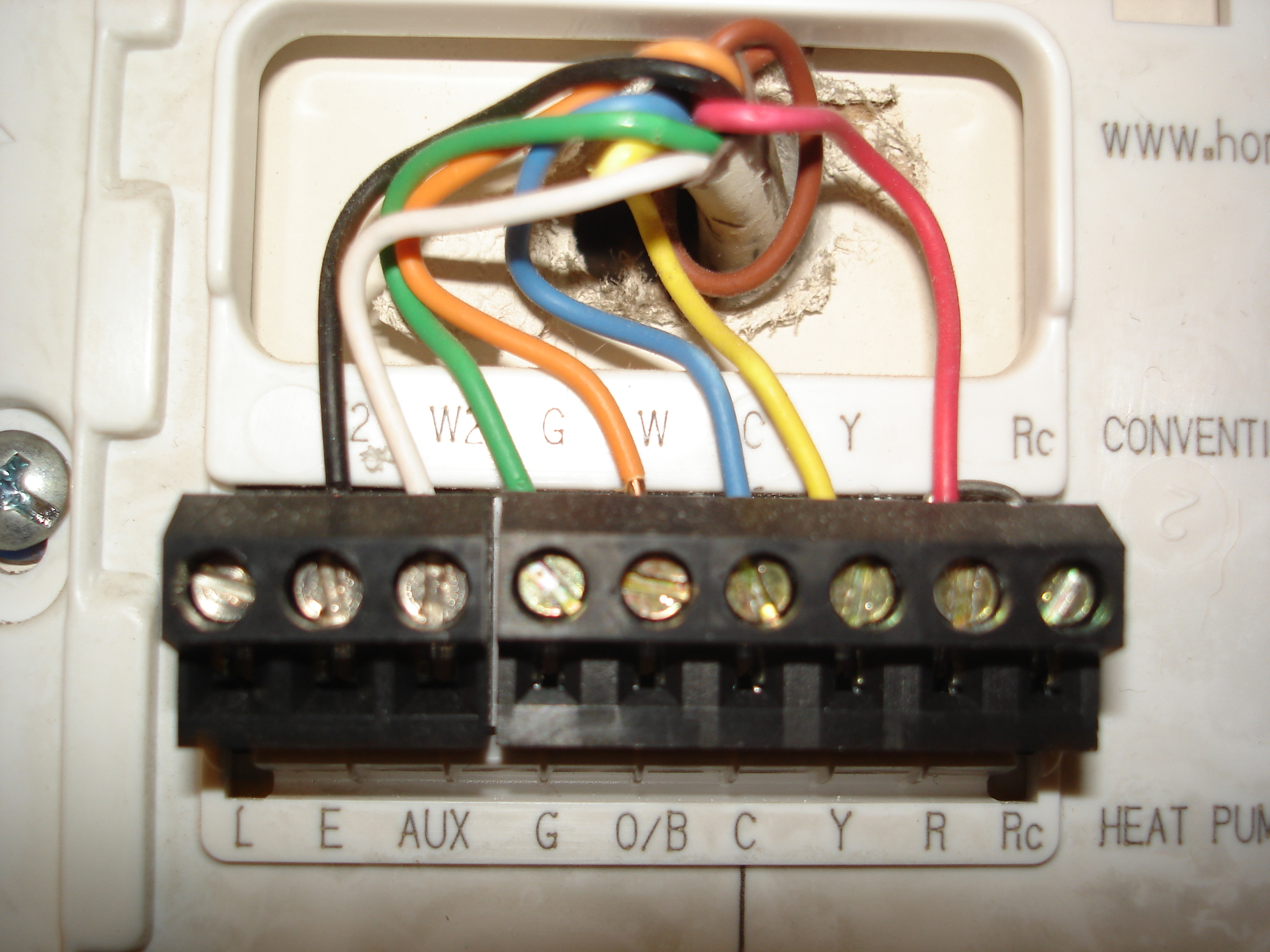 Diagram  What All Those Letters Mean On Your Thermostat